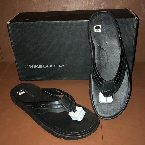 best website bf66b ae6b2 NIB Men s Nike Golf Recovery Flip Flop Sandals